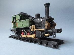 locomotiva vapore t3 h0 pinshape modello treno