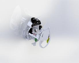 corsair f4u panel cokpit carf modelo pinshape corsair carf cabina calibre instrumento