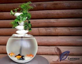 cascaqua cascade aquaponique pinshape Conception 3d aquarium produit l'aquaponie durable