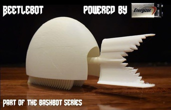 Impreso 3d beetlebots pinshape bots bashbots bristlebots