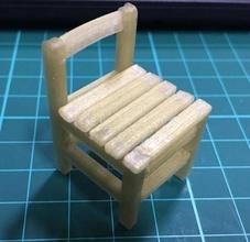 antigo escolar criança cadeira pinshape 3d design