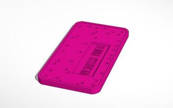 apple iphone4s vis réglage carte bac 124x64x6mm pinshape iphone 4s iphone4s l'iphone