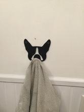 boston terrier Handtuch Haken pinshape 3d design