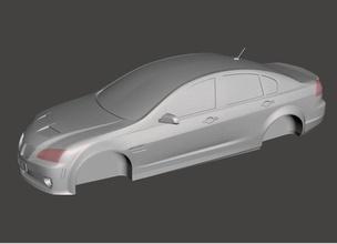 pontiac g8 pinshape 3d-design