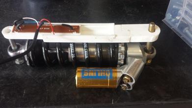 shock potenziometro dati registrazione pinshape fsae lineare attuatore potenziometro ammortizzatore racing dati monte shock