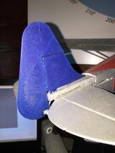 aereo rc timone pinshape sostituzione parti timone rc aereo