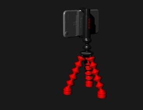 orsb tripod iphone 6 pinshape iphone snodo treppiede cavalletto calamita magnete photo foto trepiede