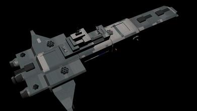 cruiser guerra elettronica stalin pinshape russo orbitale navy fantascienza disegno 3d