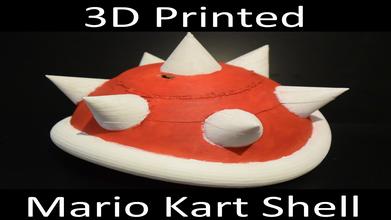 mario kart shell pinshape bashbot 3dprintit mario kart mario