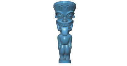 Kral kama tiki Heykeli pinshape heykelcik oyuncak heykel heykeller kama Kral Kral kama tiki Heykeli