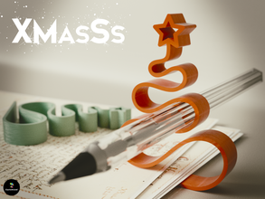 xmasss pinshape quick print quick easy-to-print easy print easy-print easy print desk design art christmas xmas decoration xmas presents  office paperclip paperclips gift-ideas gift-idea gifts gift