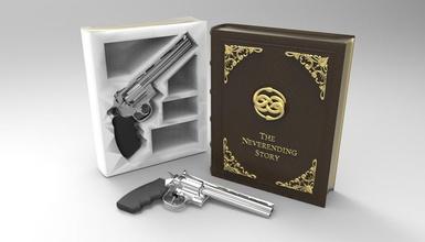 secret book box & gun colt python 357 magnum pinshape magnum 357 python colt gun & box book secret