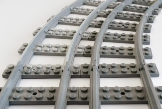 lego piste train courbes grand rayon pinshape Conception 3d