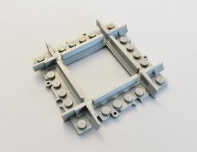 lego train piste mini traversée pinshape Conception 3d