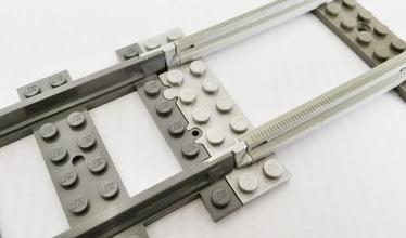 lego piste train adaptateur pinshape Conception 3d