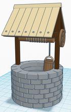 pinshape stone building water exterior dorf stadt village town city asset brunnen spiel  gaming game
