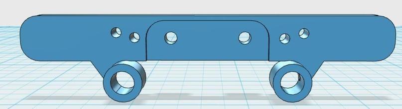 tamiya tt02 ammortizzatore posteriore soggiorno pinshape rcaddict rcmodel disegno 3d