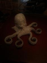 octopus holder tooth brush pinshape balda diente cepillo holder toothbrush tooth 3d-design