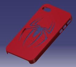 iphone 4s spider man cas pinshape cas spider man iphone 4s