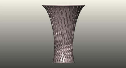 vase 237 pinshape art 237 vase robotoons billybot minifloppybot robot roboguts r2pv1com wperko solidworksmagi