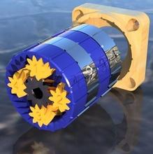 diferencial caja engranajes planetaria 433 1 hardware reacción pinshape Diseño 3d