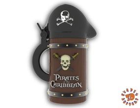 pirates caribbean beer stein - straight style pinshape caribbean pirate stein  beer pirates-of-the-caribbean pirates caribbean beer stein - straight style