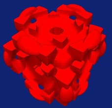 isosurface early stage companion cube pinshape 3d-design