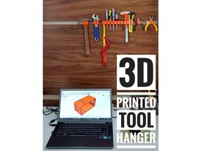 3d printed tool hanger pinshape hanger modular tool-rack tool-storage tool holder tool-stand tool shelf tool