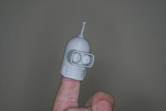 fingerspop futurama bendes pinshape jeux figurina bricoloup bender futurama fingerspop