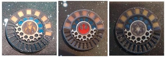 ala miniatura juego daño marca pinshape star wars tablero mesa x wing