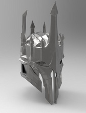 sauron armatura casco pinshape game design concorso disegno 3d