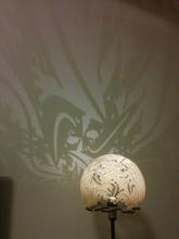 escher lucertola silhouette paralume pinshape mosaico lucertola escher ombra silhouette paralume lampada