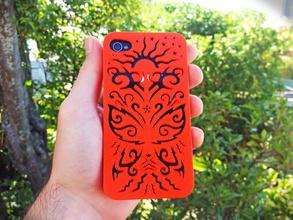 papillon coque iphone 4 4s pinshape accident apple cas protéger couvercle l'iphone
