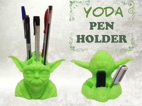 yoda Stifthalter pinshape jedi Bleistift Halter Kugelschreiber Stern Krieg arbeiten office sauber Schreibtisch aufgeräumt Schreibtisch