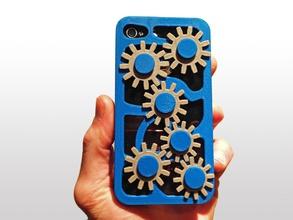 mécanique engins cas l'iphone 4 4s pinshape chute téléphone cellulaire cas apple cas iphone cas cas protéger couvercle mobile couverture