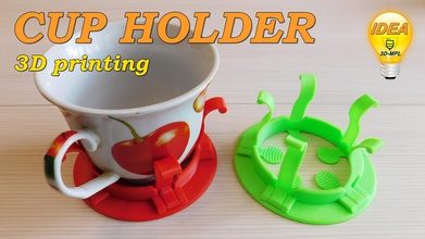 cup holder 3d-mpl pinshape home-organizer home-decoration-tool kitche cup- cup-holder