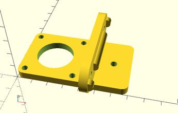 nema 17 soporte calibración tutorial pinshape prusa mendel i2 3d impresora marlinfw 2020 extrusión nema17
