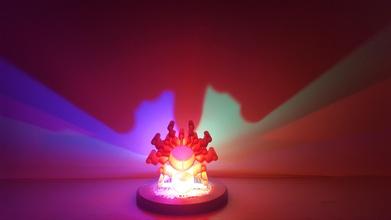 logo lamp pinshape light spiral-printing spiral-contour-mode spiral-vase spiralized vase-mode vase-mode-printing vase-printing spiral-vase-mode spiral-vase-printing spiral-mode spiral-outer-contour spiralised spiral vase logo lampshade lamp shades lamp shade lamp-shade