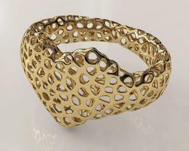 voronoi heart bracelet pinshape elle-jewelry-design-contest jewelry love heart bracelet voronoi