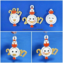 2017 happy chinese year-year rooster face change keyc pinshape 3d-design