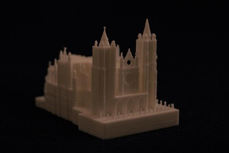 catedral león pinshape Diseño 3d