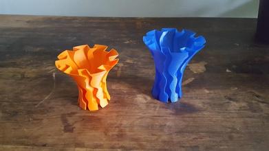 flow vase pinshape art pots spiralised spiralized spiral-printing spiral-vase-mode spiral vase spiral-vase spiral-vases spiral-outer-contour spiral-vase-printing vase-mode-printing vases vase-mode vase-printing vase