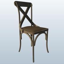x cadeira trás pinshape 3d design