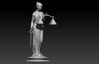 lady justice themis pinshape statue statuette law lawyer symbol-justice justice lady-justice themis
