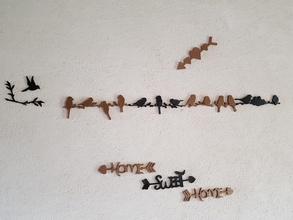 arroccato uccelli pinshape l'immaginazione immagine originale colore couleur casa dolce casa casa decorazione decorazione decoracion primavera alberi fioritura i rami bird