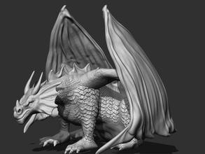 ejderha Heykeli pinshape yarışma oyun tasarım kanatlar Ortaçağ canavar yaratık ejderha