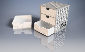 modular drawer-box hexagonal pattern pinshape kitchen  office organization-hacks hexagonales-muster hexa-pattern erweiterbar kiste aufbewahrungsbox aufbewahrung expendable-storage-box expendable-drawer-box organization modular-storage-box hexagonal-pattern hexagonal modular-box modular-drawer-box modular expandable drawer box storage-box drawer-box