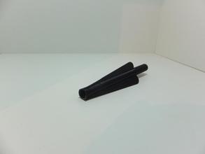 Pfeil Befiederung pinshape 3d design