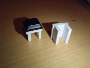 makerfarm prusa i3v smorzatore vibrazioni pinshape disegno 3d