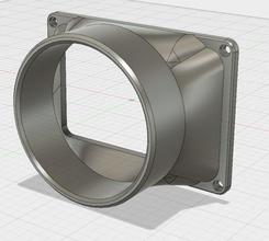 ventilación posterior 4 adaptador anycubic fotones pinshape conducto ventilación ventilación fotón anycubic fotones anycubic